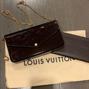 Louis Vuitton Felicie Amarante
